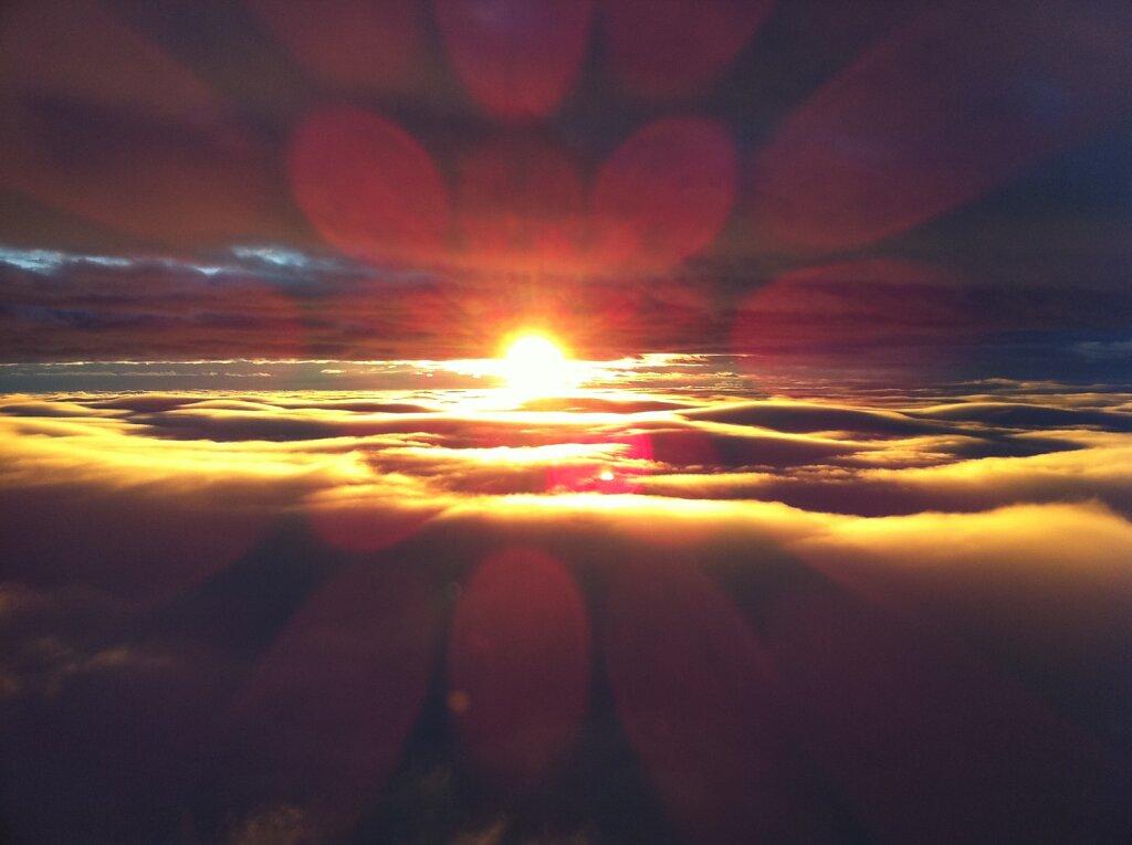 16.11.2010 Barcelona - München | Sunrise