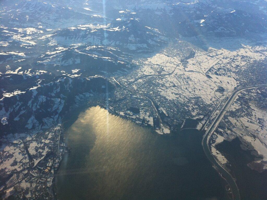 05.01.2011 Bilbao - München | Bregenz aus FL250