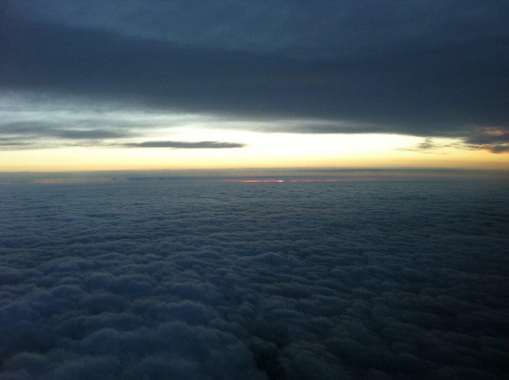 10.04.2011 München - Toulouse | Sunset 2 Minuten später