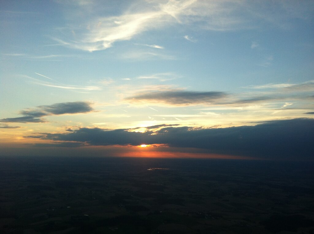 30.07.2012 München - Stuttgart | Sunset