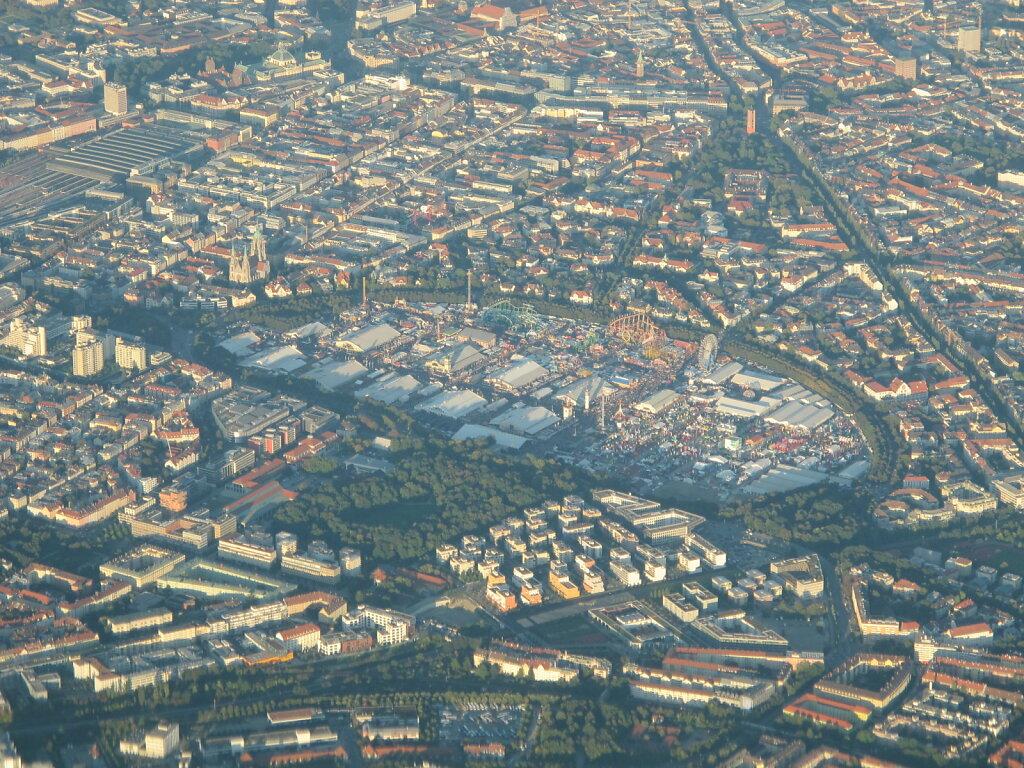 28.09.2012 Nizza - München | Wiesn aus 6.000 ft