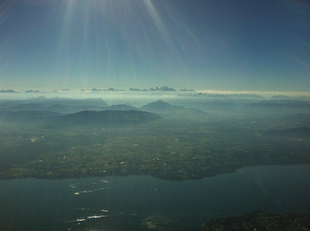 04.09.2013 Genf - München | Mont Blanc