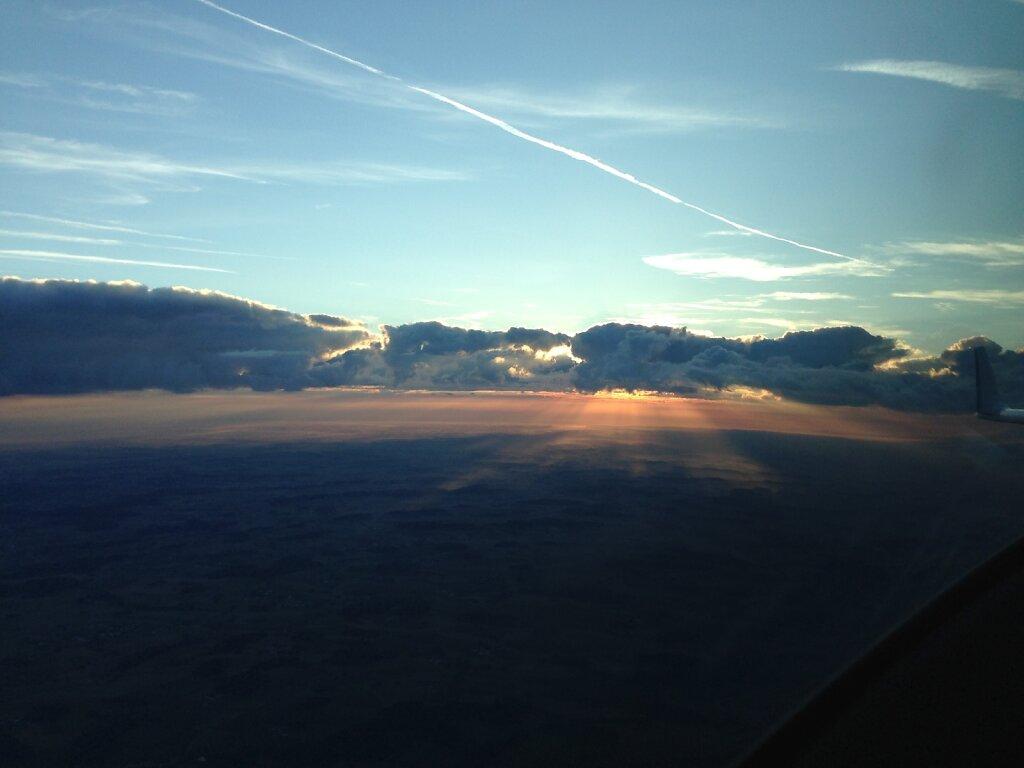 29.08.2014 Timisoara - München | Sonnenaufgang