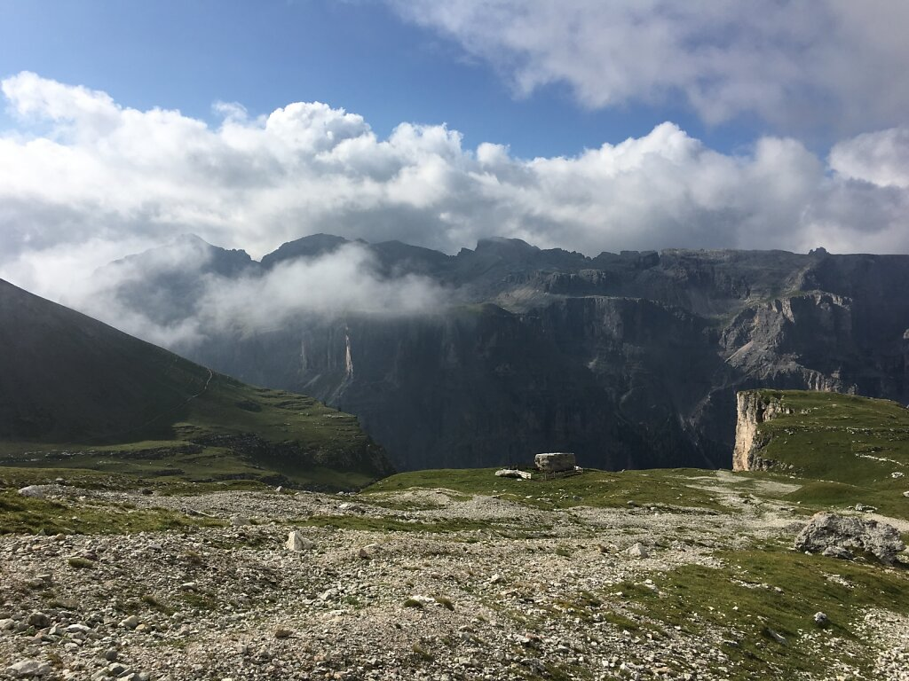 13.08.2018 Wolken vs. Berge