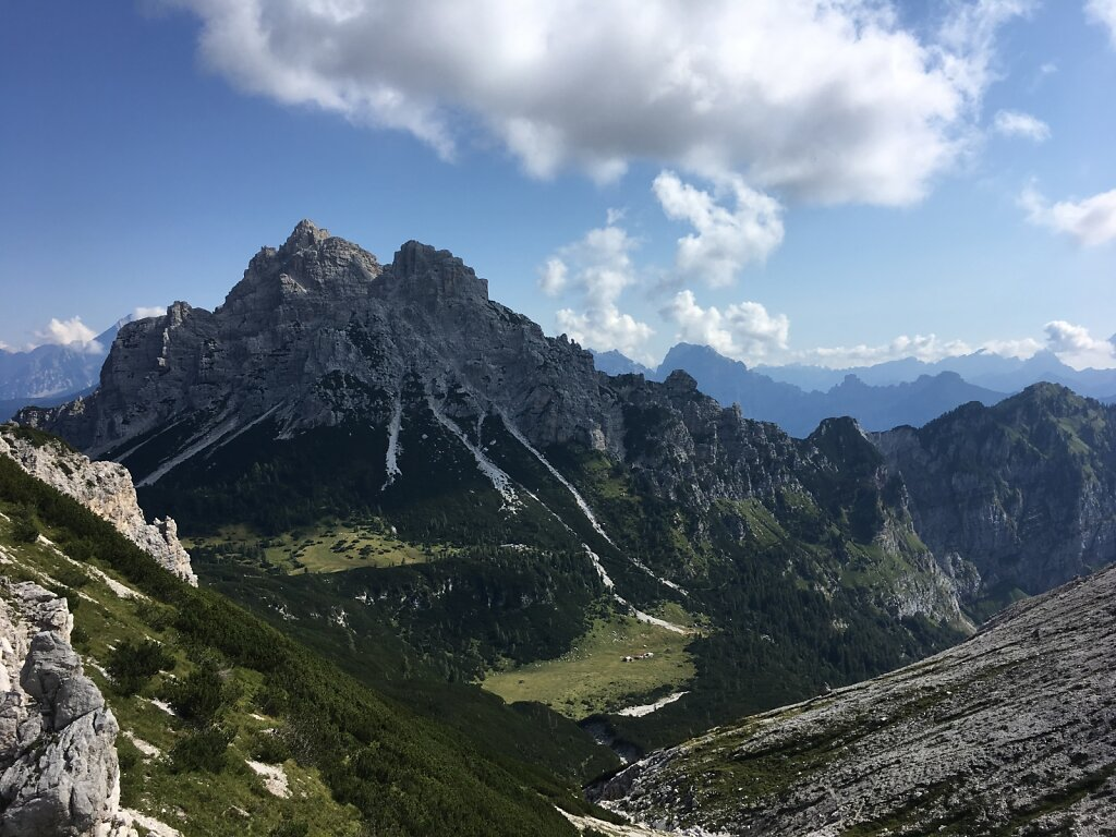 """17.08.2018 Der Blick Richtung """"Alpenende"""""""