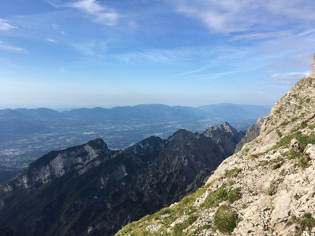 18.08.2018 Erster Ausblick ohne Berge
