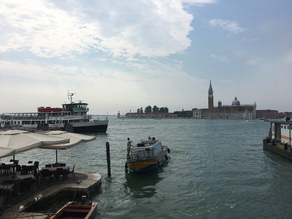 24.08.2018 Ankunft in Venedig