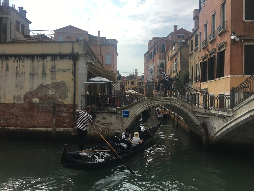 25.08.2018 Typisches Venedigbild