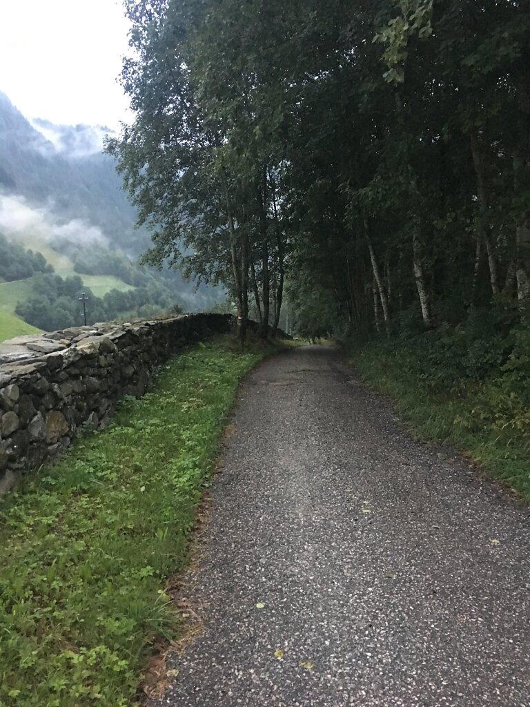 11.08.2018 Talwärts