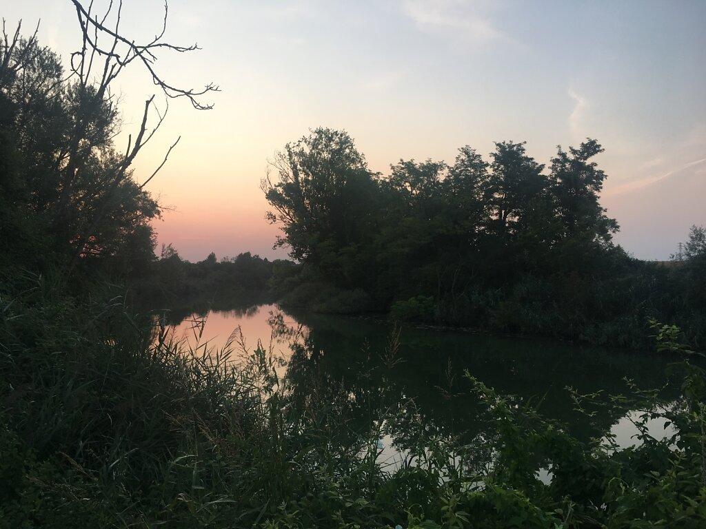 23.08.2018 Morgendliche Ruhe an der alten Piave