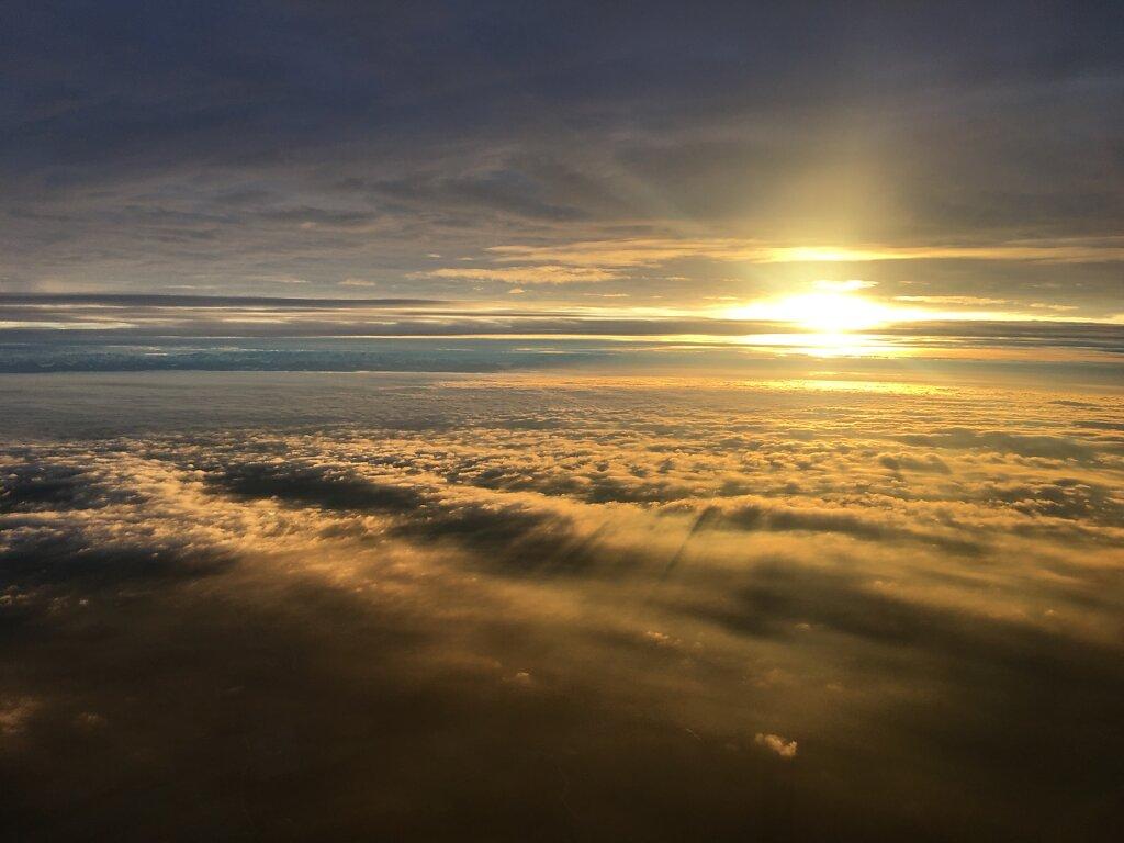 05.12.2018 München - Zagreb | Sunset