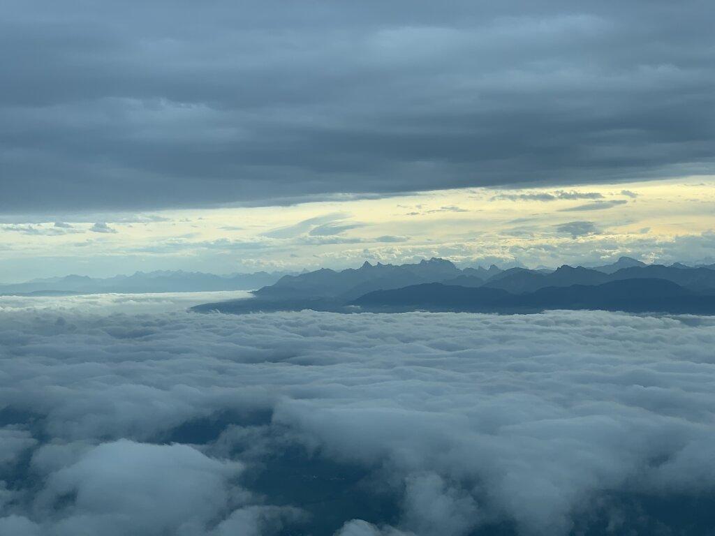 02.10.2020 Genf - München | Morgenstimmung