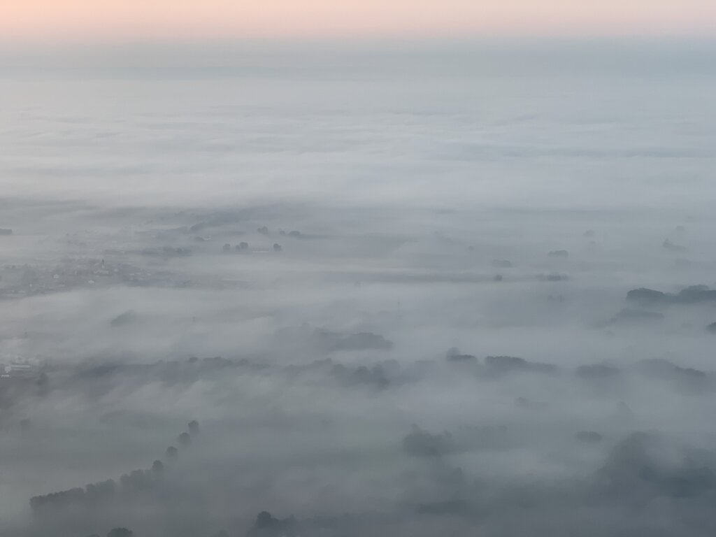 19.09.2021 München - Hannover | Nebel über Bayern
