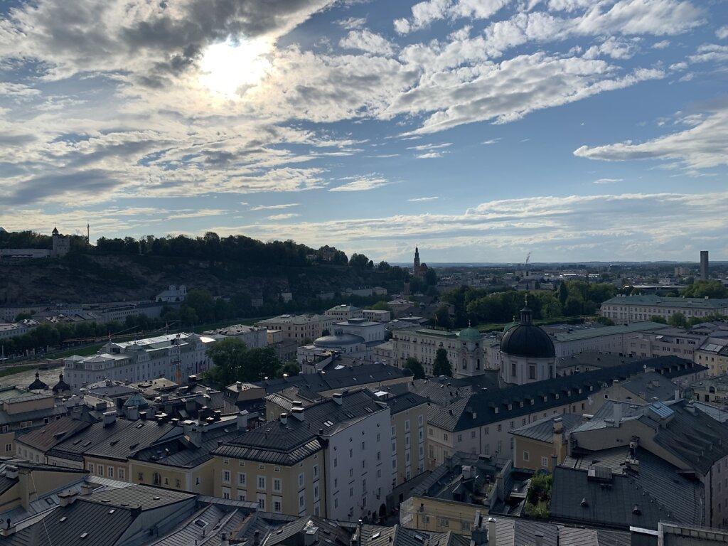 02.08.2021 Salzburg von oben