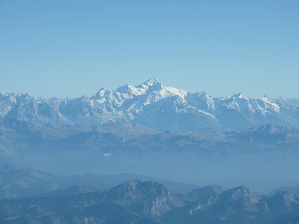 04.10.2011 Genf - München   Mont Blanc