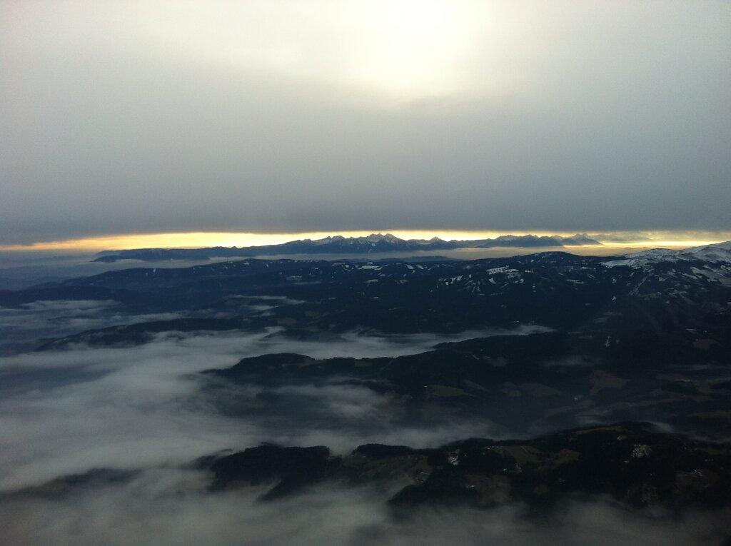 08.01.2013 München - Graz | Alpen
