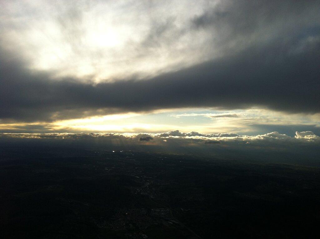 12.04.2013 Frankfurt - Stuttgart | Sunset