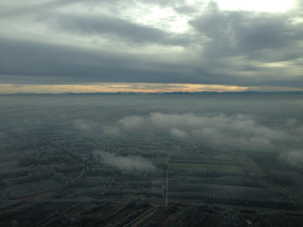 19.12.2013 Zürich - München | Alpenpanorama