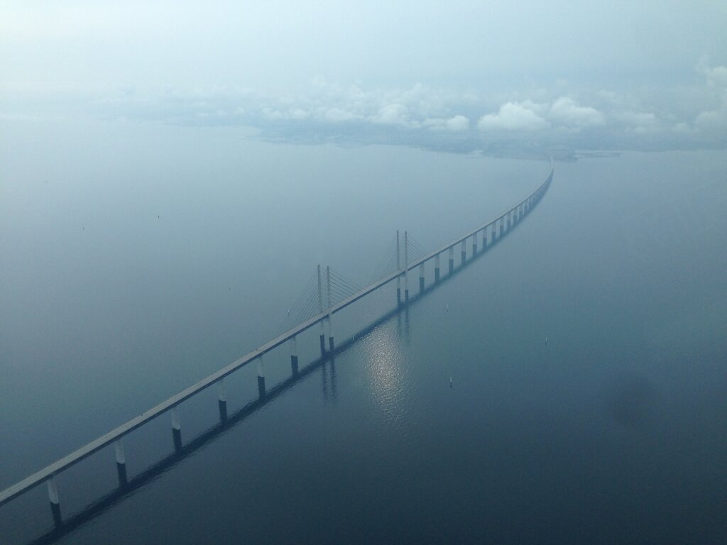 29.06.2014 München - Kopenhagen | Öresund-Brücke