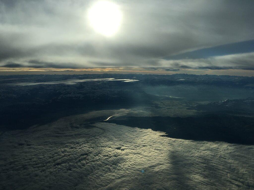 15.12.2015 Basel - München   Das Nebelmeer Bodensee