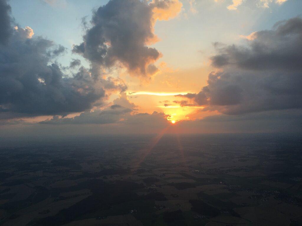 24.07.2016 Leipzig - München   Sunset