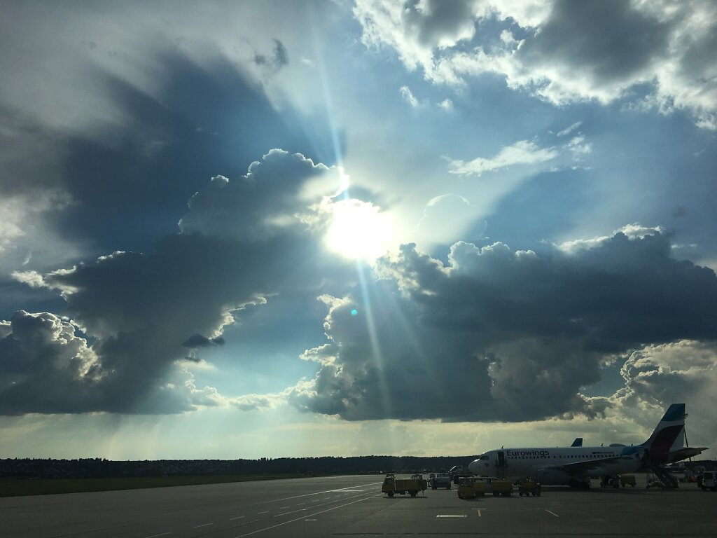 18.09.2018 Stuttgart | Sonne vs. Wolken