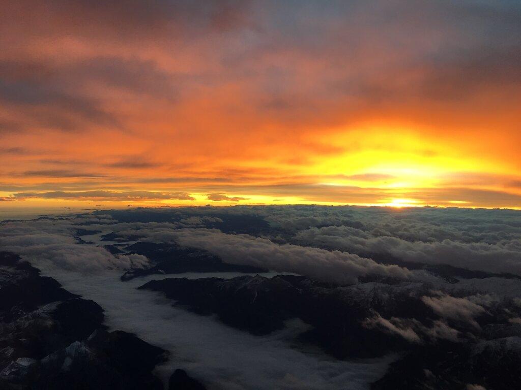 29.10.2018 Ancona - München   Sunrise 1