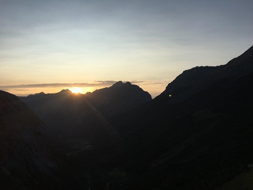 25.08.2017 Die letzten Sonnenstrahlen