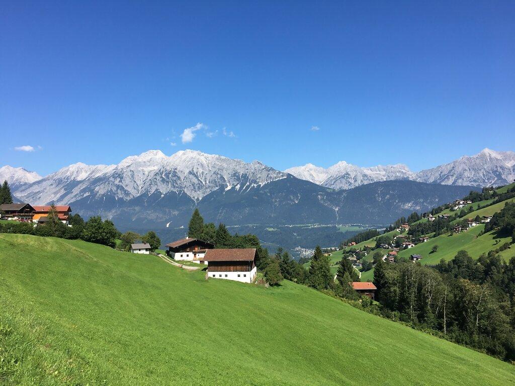 29.08.2017 Blick zurück auf's Karwendel