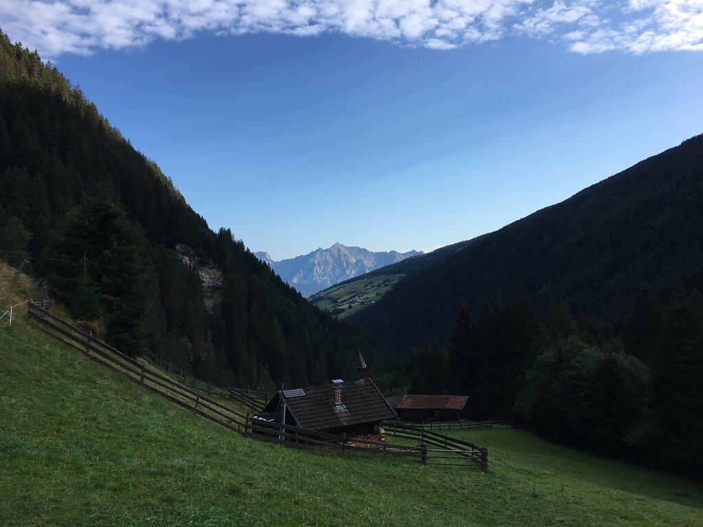 07.08.2018 Das Karwendel verschwindet