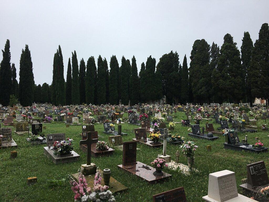 26.08.2018 Der Friedhof von Venedig