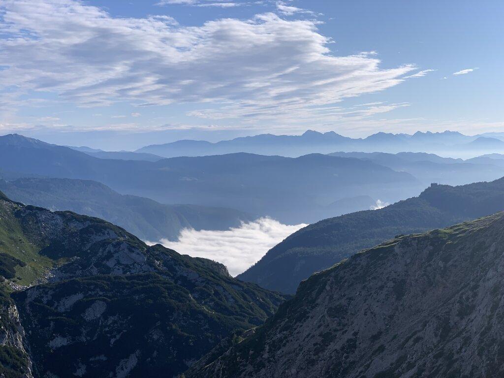 26.08.2021 Der Abstieg in's Tal beginnt