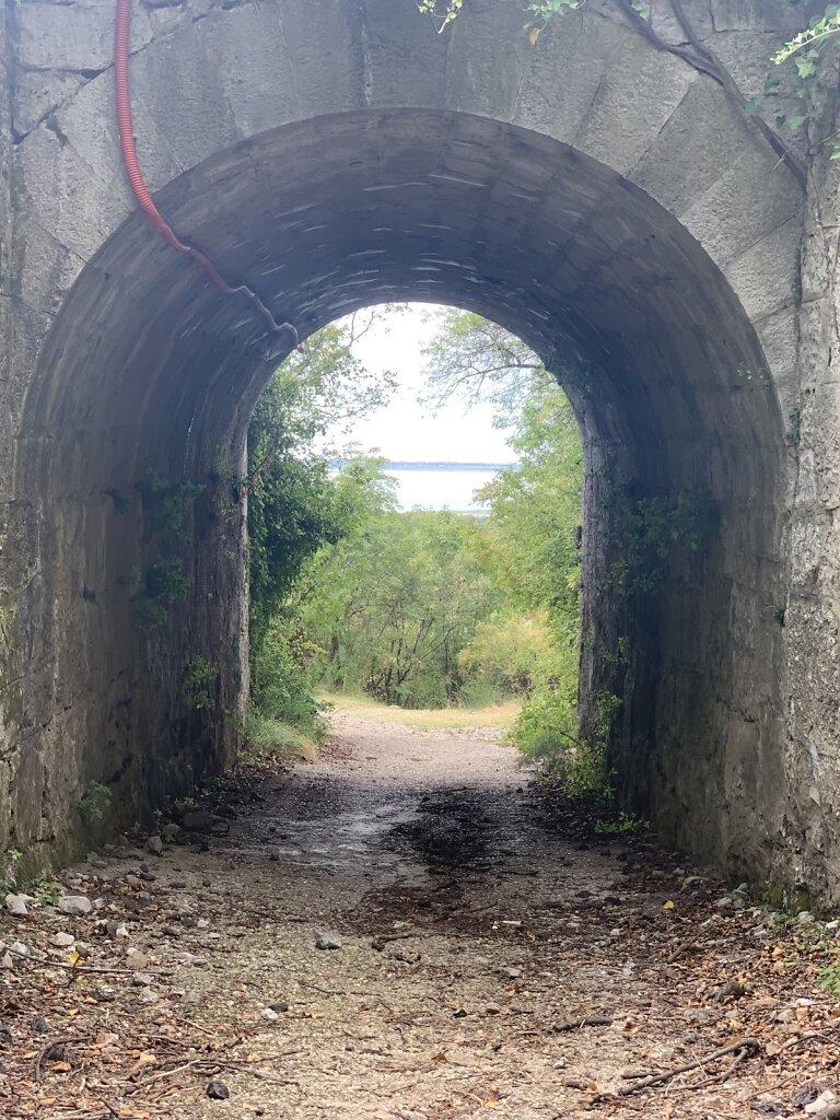 30.08.2021 Der letzte Tunnel vor dem kühlen Naß